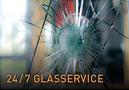 24/7 Glasservice van Vriesia Bouwen met glas